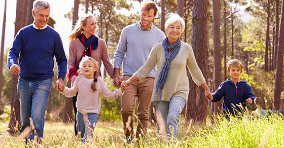 multi-generational-family-walking-together | dynasty trusts | Dalby, Wendland & Co., P.C. | CPAs | Business Advisors | Trust Estate & Gift Tax Planning | Grand Junction CO | Glenwood Springs CO | Montrose CO