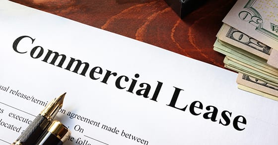 Commercial Lease agreement with money on a table | new commercial lease standard | Dalby Wendland & Co. | CPAs | Business Advisors | Audit and Assurance | Colorado | Grand Junction | Glenwood Springs | Montrose