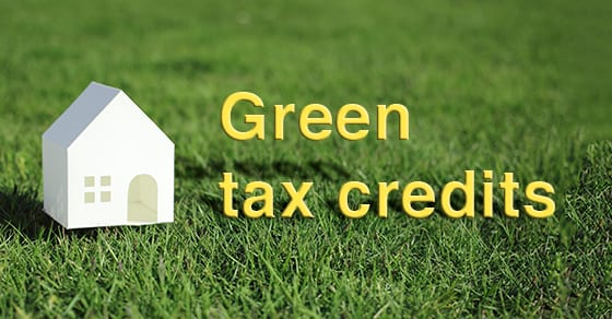 Green Tax Credits | Dalby, Wendland & Co., P.C. | CPAs | Business Advisors | Grand Junction CO | Glenwood Springs CO | Montrose CO
