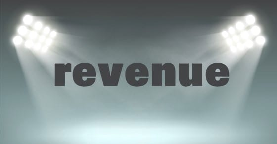 image of bright lights and word revenue | Why Revenue Matters in an Audit | Dalby, Wendland & Co., P.C. | CPAs | Business Advisors | Grand Junction CO | Glenwood Springs CO | Montrose CO