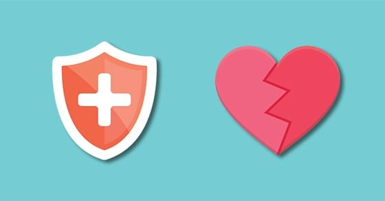 medical sign and broken heart | Tax Cuts and Jobs Act (TCJA) | Dalby, Wendland & Co., P.C. | CPAs | Business Advisors | Grand Junction CO | Glenwood Springs CO | Montrose CO