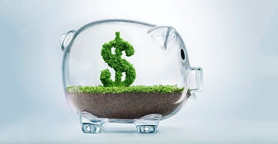 piggy bank with dollar sign growning inside | 2019 Retirement Plan Contribution Limits | Dalby, Wendland & Co., P.C. | CPAs | Business Advisors | Grand Junction Colorado | Glenwood Springs Colorado | Montrose Colorado