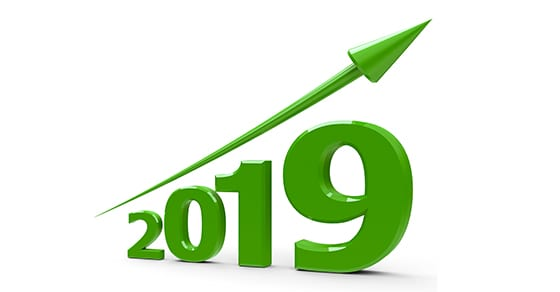 arrow indicating increase for year 2019 | tax related limits affecting businesses increase for 2019 | Dalby, Wendland & Co., P.C. | Grand Junction CO | Glenwood Springs CO | Montrose CO