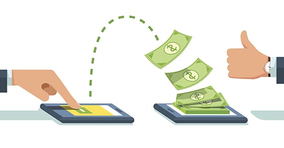 People sending and receiving money wirelessly | auditing cashless transactions | Dalby, Wendland & Co., P.C. | CPAs | Business Advisors | Grand Junction CO | Glenwood Springs CO | Montrose CO